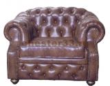 кресло честер с высокой спинкой